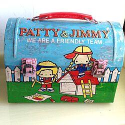 棚/レトロ/缶/PATTY&JIMMY/サンリオ...などのインテリア実例 - 2013-08-19 15:42:01
