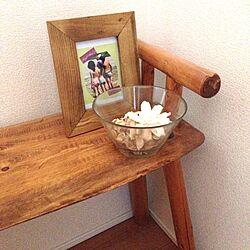 ベッド周り/IKEAの食器/写真フレーム/ヒノキ/院長の作品のインテリア実例 - 2013-09-28 13:14:29
