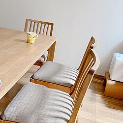 椅子座面張替え/椅子DIY/子供三人/子供のいる暮らし/ハンドメイド...などのインテリア実例 - 2021-05-01 10:21:09