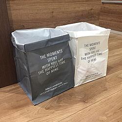 生活感を隠したい/ゴミ分別/ジョイントできるPP収納BOX/ダイソー/キッチンのインテリア実例 - 2019-07-05 19:52:23