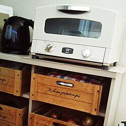 キッチン/RoomClipショッピング/夏のスペシャルクーポン/アラジントースター/中古住宅のインテリア実例 - 2021-08-28 13:03:37