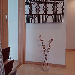 玄関/入り口/グレーも好き/北欧モダンが好き/北欧モノトーンに憧れる/ニトリのフラワーベース...などのインテリア実例 - 2018-02-19 13:13:03