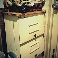玄関/入り口/手作り/DIY/リメイク/収納のインテリア実例 - 2014-01-28 23:32:05