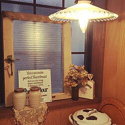 キッチン/格子窓/出窓/出窓ディスプレイ/古道具...などのインテリア実例 - 2017-10-26 15:06:18