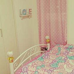 部屋全体/アンティーク/子供部屋/ピンク/プリンセス...などのインテリア実例 - 2014-05-14 21:19:56