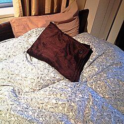 ベッド周り/ベッドカバー/IKEA/IKEAベッドカバーのインテリア実例 - 2013-03-22 17:28:10
