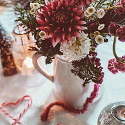 机/ディスプレイ/クリスマス雑貨/花のある暮らし/海外インテリアに憧れる...などのインテリア実例 - 2019-12-16 16:56:46