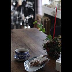 机/コーヒーブレーク/tea time/antique/vintage...などのインテリア実例 - 2017-12-01 11:28:21