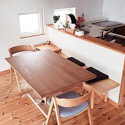 キッチン/ナチュラル/unico/IKEA/ダイニング...などのインテリア実例 - 2020-07-16 14:46:51