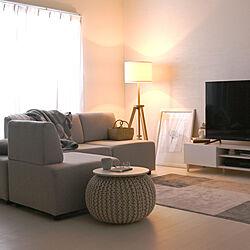 フロアソファ/ホワイトフローリング/SESAME(セサミ)家具・インテリア/セサミ家具/セサミインテリア...などのインテリア実例 - 2021-09-14 20:00:16