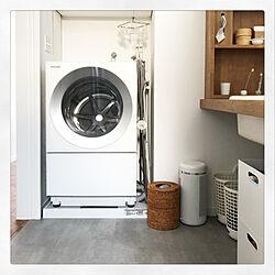 Cuble/洗濯機/脱衣所/洗面台/注文住宅...などのインテリア実例 - 2020-01-14 18:48:55