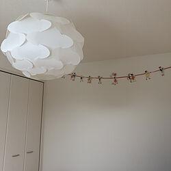 IKEA 照明/IKEA/ガーランド/子供部屋/部屋全体のインテリア実例 - 2020-05-19 11:16:51