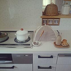 キッチン/ナチュラル/ナチュラルフレンチ/ナチュラルインテリアに憧れる/カフェ風インテリアを目指して...などのインテリア実例 - 2019-03-14 14:32:26