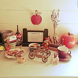 アンティーク/レトロ/コレクション/フラスコ/りんごの花瓶...などのインテリア実例 - 2021-06-18 20:27:39