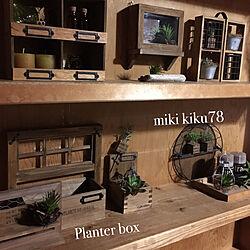 棚/リメイク/Insta→miki.kiku78/セリアDIY/100均だけで出来る...などのインテリア実例 - 2017-09-24 19:51:39
