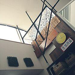 壁/天井/ロフト/賃貸/DIY/箱階段...などのインテリア実例 - 2014-08-17 12:56:03