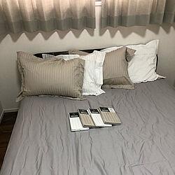 ニトリのまくら/ベッド周りのインテリア実例 - 2020-01-05 15:04:14