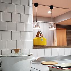 キッチン/北欧ミッドセンチュリー/北欧/IKEA/アクセントクロス...などのインテリア実例 - 2020-08-12 19:22:53