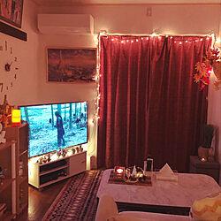 リビング/cozy/living room/lights/HOME...などのインテリア実例 - 2018-11-16 23:16:34