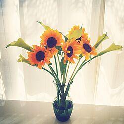 リビング/花瓶/MoMonatural/お花大好き/flower...などのインテリア実例 - 2015-05-05 15:19:07