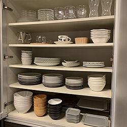 食器棚/おうち時間/キッチンのインテリア実例 - 2021-01-22 08:18:02
