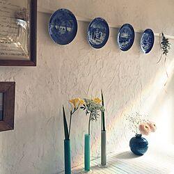 玄関/入り口/DIY/セルフリフォーム/リメイク/漆喰...などのインテリア実例 - 2015-02-21 23:49:50