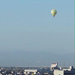 部屋全体/バルーンフェスタ/気球/ベランダからの景色/インテリアじゃなくてごめんなさいのインテリア実例 - 2015-10-28 08:38:28