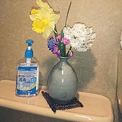 バス/トイレ/畑でとれたお花たち/お花/お花大好き/トイレの手洗い...などのインテリア実例 - 2020-03-30 22:30:50