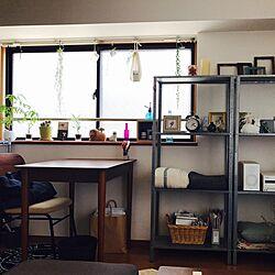 机/ユーカリドライ/いざなうるす屋さん/journal standard Furniture/IKEA...などのインテリア実例 - 2017-07-12 14:28:54