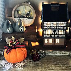 クリスマス/クリスマスディスプレイ/オシャレ照明/ハンドメイド/植物...などのインテリア実例 - 2020-10-26 11:47:55