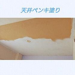 壁/天井/いつもいいねやコメありがとうございます♡/天井ペンキ塗りのインテリア実例 - 2021-05-15 14:07:11