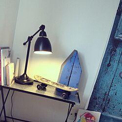 ベッド周り/テーブルランプ/照明/雑貨のインテリア実例 - 2012-10-02 23:45:41
