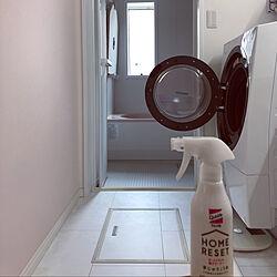 アクセントクロス ピンク/ドラム式洗濯機/クイックルホームリセット/リビング掃除/ウィルス対策...などのインテリア実例 - 2020-10-22 18:59:57