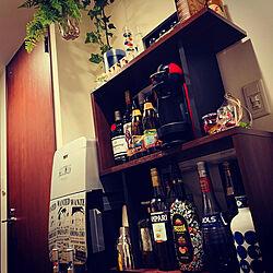 お酒大好き/お酒/お酒コーナー/ウォーターサーバー/ワンピース...などのインテリア実例 - 2020-12-17 02:27:50