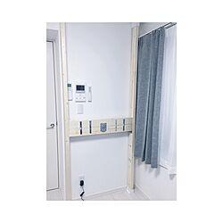 壁/天井/配線隠したい/狭い部屋を上手く使えるように考え中/狭い部屋/1K...などのインテリア実例 - 2016-12-29 23:37:18