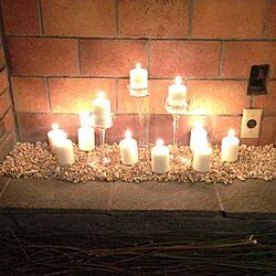 棚/暖炉/キャンドルのインテリア実例 - 2014-01-07 23:52:06