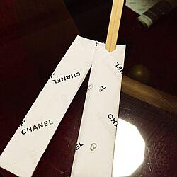 キッチン/割り箸ラダー/割り箸/白黒/CHANEL...などのインテリア実例 - 2015-11-03 19:51:02