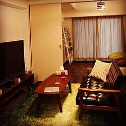 部屋全体/カリモク60/TVボード/ラグ/ソファ...などのインテリア実例 - 2013-05-13 14:14:53