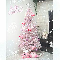 リビング/クリスマス/クリスマスツリー/クリスマスツリー150cm/Francfranc...などのインテリア実例 - 2018-11-13 12:35:06