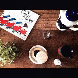 机/コーヒー/無垢材/アンティーク/古道具...などのインテリア実例 - 2015-06-15 08:13:06