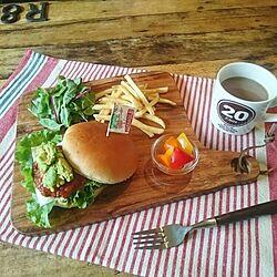 キッチン/インスタ miki_kuma_koです/カフェごはん/おうちカフェ/ダイソー...などのインテリア実例 - 2016-07-17 12:43:36