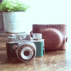 棚/antique/アンティーク/ジャンク/カメラ...などのインテリア実例 - 2012-11-15 09:51:43