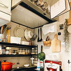 ホーロー/IKEA/ルクルーゼ/キッチン収納/キッチン...などのインテリア実例 - 2021-07-08 05:53:18