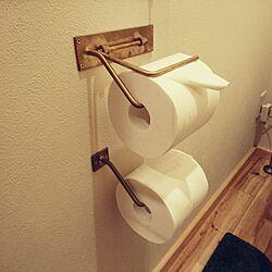 バス/トイレ/トイレットペーパーホルダー/紙巻き器のインテリア実例 - 2017-03-09 22:21:55