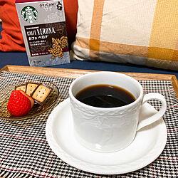おうちカフェ/ドリップコーヒー/カフェベロナ/コーヒータイム/スターバックス...などのインテリア実例 - 2021-02-06 19:58:48