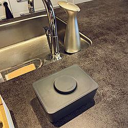 umbraオットセンサーポンプ/sarasa design b2c/お尻拭きケース/リクシルリシェルSi/キッチンのインテリア実例 - 2021-08-19 21:13:05