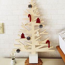 クリスマス/クリスマスディスプレイ/クリスマスツリー/雑貨/北欧...などのインテリア実例 - 2015-11-03 14:56:14
