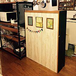 キッチン/食器棚/昭和レトロ部/レトロ/レンジラック...などのインテリア実例 - 2015-01-30 09:02:15