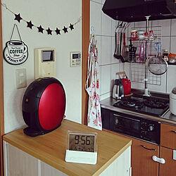 キッチン/1LDK/賃貸/赤ちゃんのいる暮らし/狭いキッチンを使いやすくのインテリア実例 - 2018-08-16 10:01:31