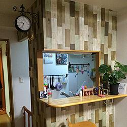 キッチン/対面カウンターのインテリア実例 - 2017-10-13 23:55:40
